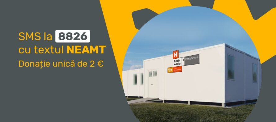 Mâine, 4 februarie, începe construcția Spitalului Modular ATI din Piatra Neamț
