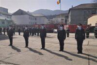 Avansări în grad la ISU Neamț de Ziua Protecţiei Civile