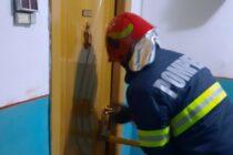 Bătrân din Piatra Neamț, singur în locuință, salvat de pompieri