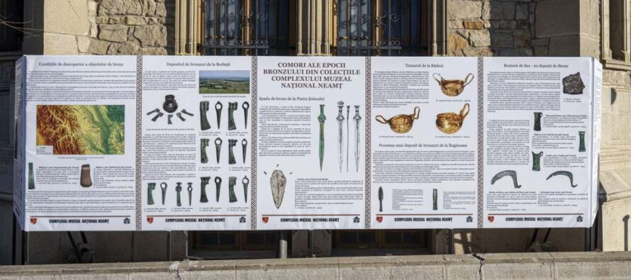 Comori ale epocii bronzului – expoziție deosebită organizată de Complexul Muzeal Național Neamț