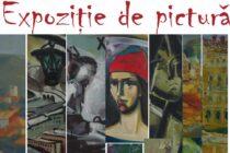Expoziția pictură din colecția Tincuța și Emil Neagoie la Biblioteca Județeană