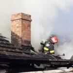 incendiu locuinta pompieri Adjudeni