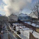 incendiu locuinta pompieri Adjudeni 2
