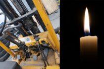 Accident mortal: un bărbat și-a pierdut viața strivit de un motostivuitor