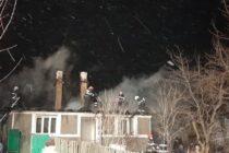 O locuință și o anexă din comuna Negrești au ars din cauza unui scurtcircuit