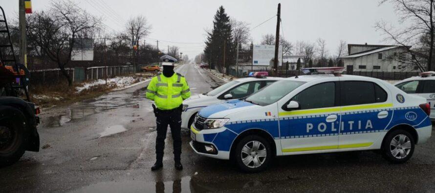 Circulație restricționată pe DJ 208G, între localitățile Ștefan cel Mare și Dragomirești