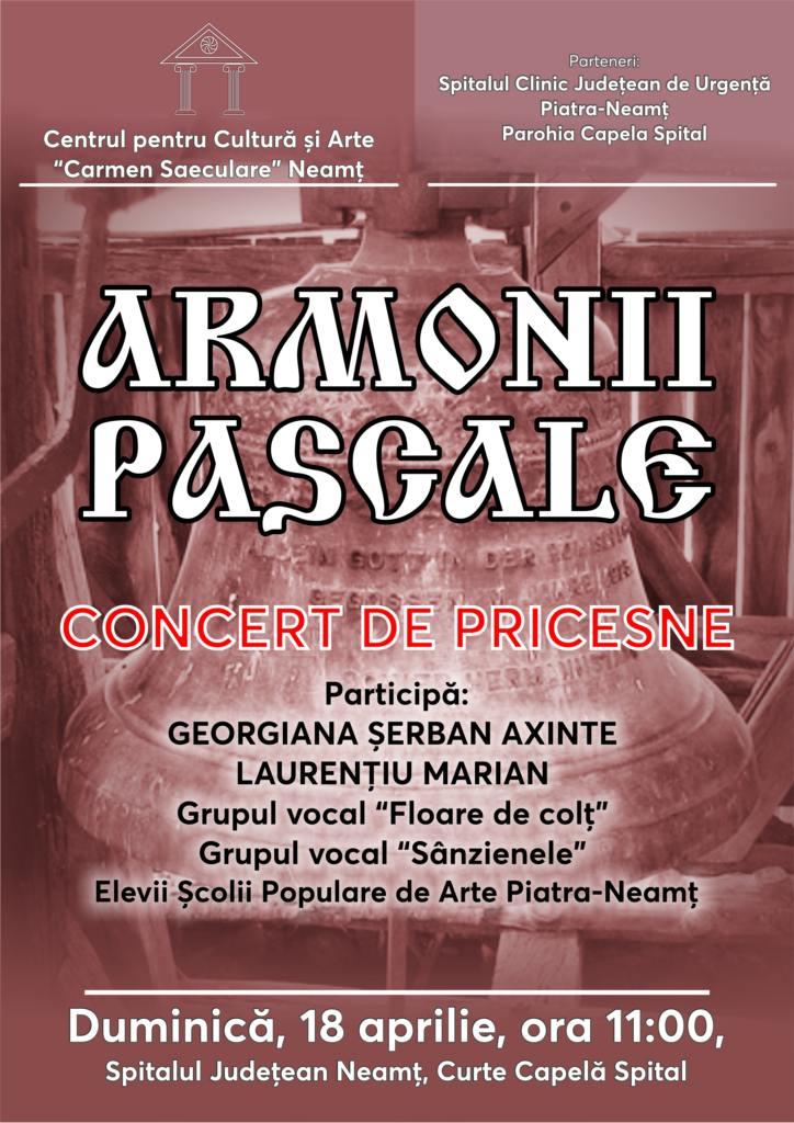 Armonii Pascale 18 aprile 2021