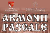"""Concert de pricesne organizat la sediul CJ Neamț în cadrul proiectului """"Armonii Pascale"""""""