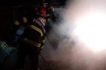 O tonă de fân a ars în comuna Bodești din cauza unui fumător neatent