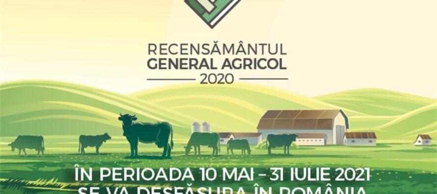 Recensământului General Agricol va începe pe 10 mai
