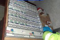 Peste 7.800 de țigări de contrabandă decoperite în urma unor percheziții domiciliare la Răucești