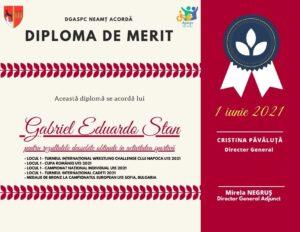 Diploma Gabriel Stan