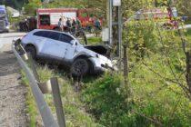 Accident rutier între două autoturisme la Petru Vodă