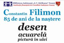 Expoziție în memoria pictorului Constantin Filimon la Biblioteca Județeană