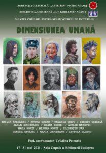 expozitie de portrete biblioteca judeteana