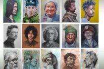 """""""Dimensiunea umană"""" – expoziție de portrete la Biblioteca Județeană"""