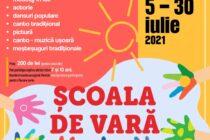 """În perioada 5-30 iulie, Centrul """"Carmen Saeculare"""" organizează Școala de vară"""