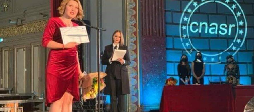 """O nemțeancă a câștigat titlul de """"cel mai bun asistent social al anului"""""""