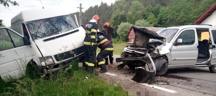 Accident rutier cu 5 victime la Grințieș