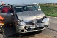 Accident rutier între două autoturisme în comuna Horia, o femeie a fost transportată la spital