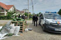 Amendați și puși să ecologizeze zona pentru că vindeau legume în loc neautorizat