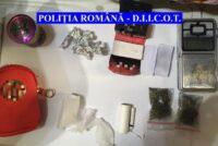 30 de persoane audiate și 7 reținute pentru trafic de droguri în Neamț și alte 3 județe