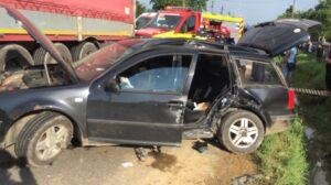accident TIR autoturism victima incarcerata bodesti