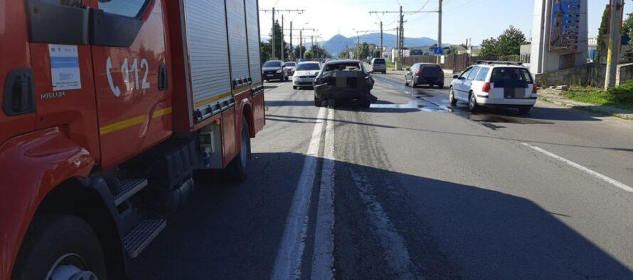 Accident rutier cu 3 victime la intrarea în Piatra Neamț