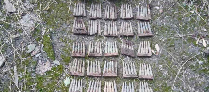 Mai multe elemente de muniție neexplodată descoperite în comuna Bicazu Ardelean