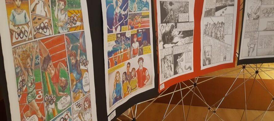 Premianții nemțeni la Olimpiada de Benzi Desenate