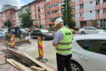 Polițiștii locali verifică cum sunt realizate lucrările stradale din Piatra Neamț