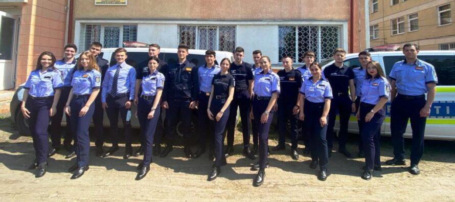 20 de studenți la Academia de Poliție din București vor face practică în Neamț