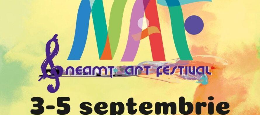 În perioada 3-5 septembrie se va desfășura Neamț Art Festival, spațiu deschis culturii, ediția a II-a