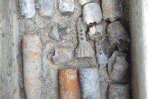 Muniție neexplodată descoperită la fabrica de zahăr din Roman
