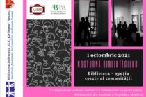Nocturna Bibliotecilor și Ziua Internațională a Persoanelor Vârstnice – activități organizate la Biblioteca Județeană
