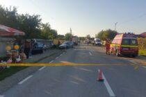 Accident rutier cu 2 victime în comuna Vânători Neamț