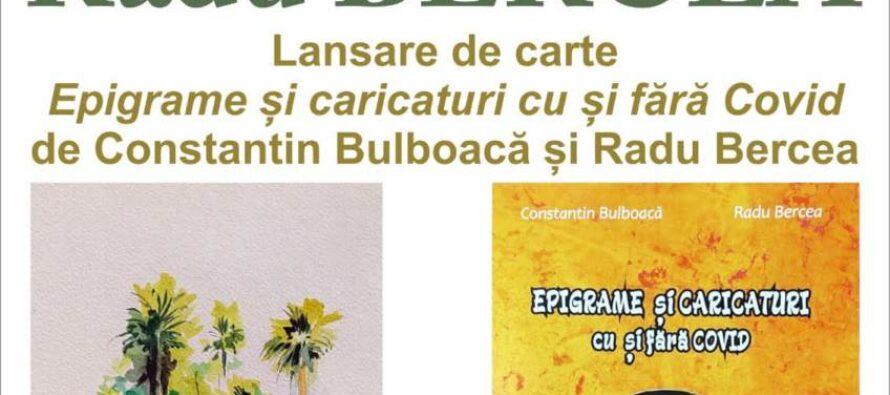 Expoziție de acuarelă a pictorului Radu Bercea la Biblioteca Județeană