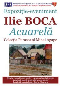 expozitie de pictura Ilie Boca 2021