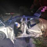accident rutier autoturism in cap de pod (1)