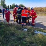 accident rutier autoutilitara ambulanta girov (3)