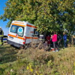 accident rutier autoutilitara ambulanta girov (4)