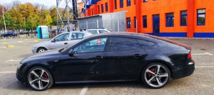 Autoturism de lux furat din Maramureș, depistat în Piatra Neamț