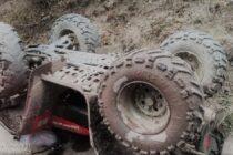 Un bărbat de 57 de ani a decedat după ce s-a răsturnat cu ATV-ul