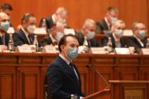 Guvernul Câțu a fost demis prin moțiune de cenzură