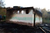Incendiu în curtea școlii de la Tașca provocat de niște copii