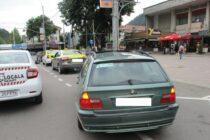Taximetriști amendați de polițiștii locali pentru nerespectarea prevederilor legale